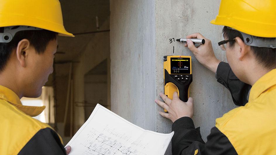 钢筋保护层厚度及间距检测